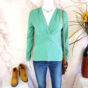 Anthropologie Moth beautiful gathered bust sweater